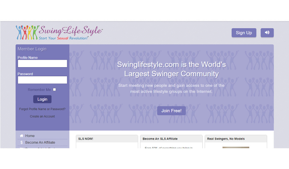 SwingLifeStyle As A Leading Swinging Dating Website